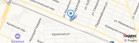 Добрострой на карте Брянска