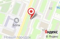 Схема проезда до компании Военный комиссариат Астраханской области в Красном Яре