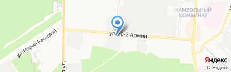 Фирма по производству дверей на карте Брянска