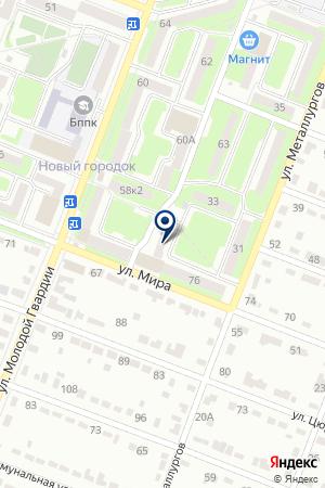 ДОПОЛНИТЕЛЬНЫЙ ОФИС № 0122 БРЯНСКОЕ ОТДЕЛЕНИЕ № 8605 СБЕРБАНК РОССИИ на карте Брянска