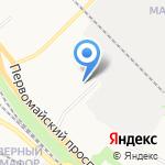Петрокомплект на карте Петрозаводска