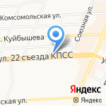 Служба компьютерной помощи на карте Брянска