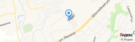 Орбита на карте Супонево