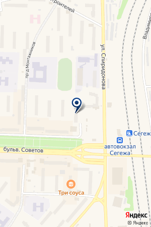 КОНДИТЕРСКАЯ-КАФЕ ЭВЕЛИНА на карте Сегежи