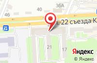 Схема проезда до компании Технолинт в Брянске