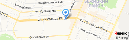 Мебельный магазин на карте Брянска