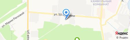 Подворье на карте Брянска