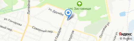 Детский сад №146 Белоснежка на карте Брянска