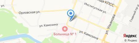 Сталкер на карте Брянска