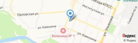 Детский сад №7 на карте Брянска