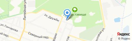 Центр реабилитационной техники на карте Брянска