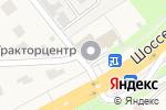 Схема проезда до компании Севан, продуктовый магазин в Супонево