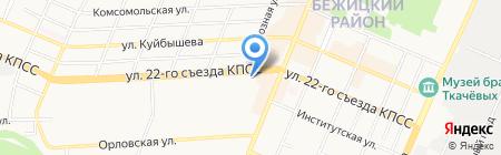 Радиомастер на карте Брянска
