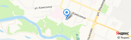 Детский сад №65 Василек на карте Брянска
