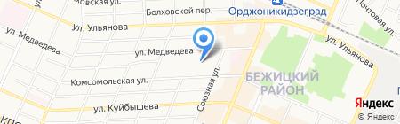 Технический центр на карте Брянска