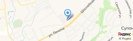 Брянсктехсервис на карте Супонево