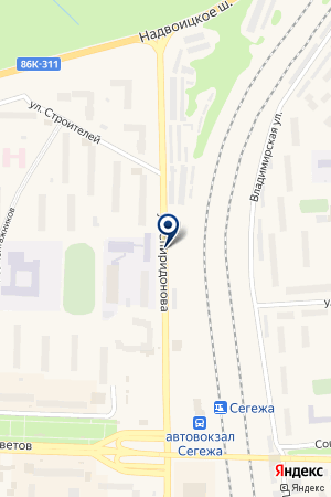 АВТОМОЙКА САРКИСЯН Э.Г. на карте Сегежи