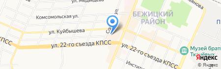 Банкомат Внешпромбанк на карте Брянска