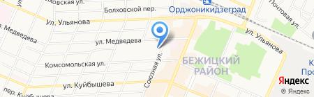 Центр стоматологии на карте Брянска