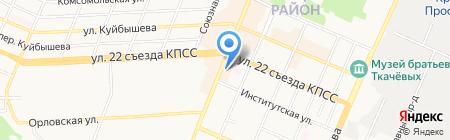 Займ-Экспресс на карте Брянска