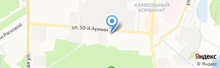 Храм во имя Святого Праведного Иоанна Кронштадтского на карте Брянска
