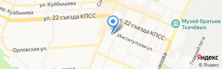 Брянская архитектурно-проектная инжиниринговая компания на карте Брянска