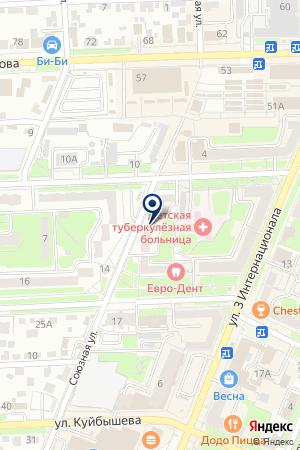 АПТЕЧНЫЙ ПУНКТ ГПОКРАТ на карте Брянска