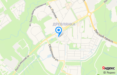 Местоположение на карте пункта техосмотра по адресу г Петрозаводск, р-н Древлянка, ш Лососинское, д 39