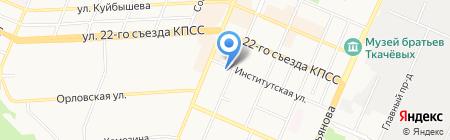 Банкомат ГАЗПРОМБАНК на карте Брянска