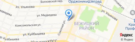 Секонд-хенд на Комсомольской на карте Брянска