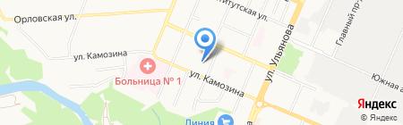 Шарм на карте Брянска