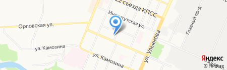 Авто-Лада на карте Брянска