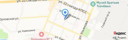 БГТУ на карте Брянска