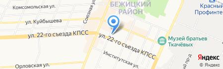 БульварКафе на карте Брянска