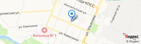 Оазис на карте Брянска