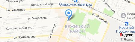 Апекс-тур на карте Брянска