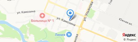 Библиотека №13 на карте Брянска