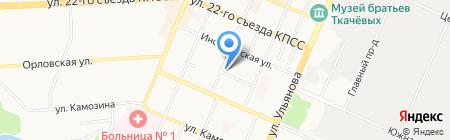 Центр детского технического творчества Брянской области на карте Брянска