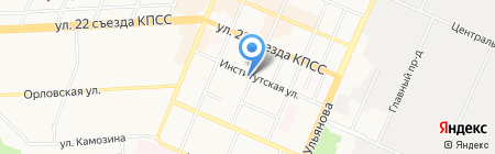 Промбезопасность на карте Брянска
