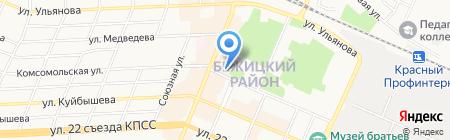 Горница на карте Брянска