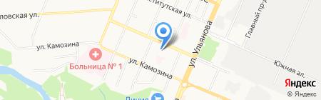 Компьюмаркет сервис на карте Брянска