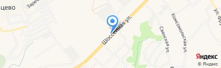 Магазин автотоваров на карте Супонево