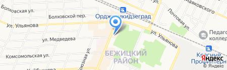 Ультра комп на карте Брянска