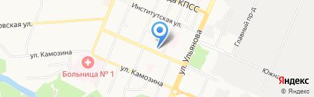 Медресурс на карте Брянска