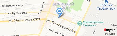 SilverCars на карте Брянска