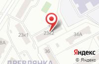 Схема проезда до компании Мега-Пресс Плюс в Петрозаводске