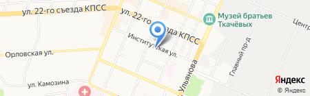 Панорама на карте Брянска