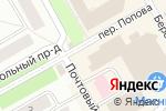 Схема проезда до компании Рыбачьте с нами в Петрозаводске