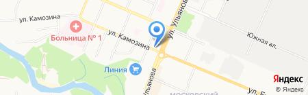Дива на карте Брянска