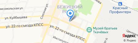 Мобис на карте Брянска